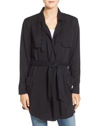 AG Jeans - Ryder Trench Coat - Lyst