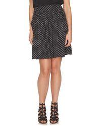 Cece by Cynthia Steffe - 'disco Dots' Print Skirt - Lyst