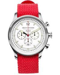 Jack Mason Brand - Nautical Woven Strap Watch - Lyst