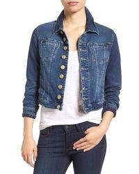 Jag Jeans - Savannah Denim Knit Jacket - Lyst