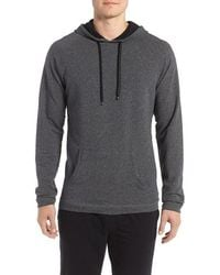 Naked - Stretch Terry Cotton Hoodie - Lyst