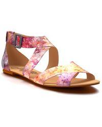 Shoes Of Prey - Buckle Strap Sandal - Lyst