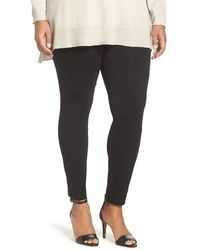 Two By Vince Camuto - Ponte Moto Leggings - Lyst