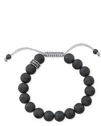 Room 101 - Hematite Bead Shamballa Bracelet - Lyst