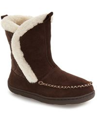 Tempur-Pedic Joanie Bootie Slipper - Brown
