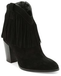 Andre Assous - 'farley' Fringe Bootie - Lyst