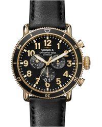 Shinola The Runwell Sport Chronograph Watch - Multicolour