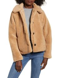 ONLY Emily Teddy Coat - Multicolor