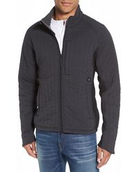Relwen - Quilted Jacket With Ribbed Trim - Lyst