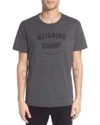 Steven Alan 'gym Logo' Graphic T-shirt - Gray