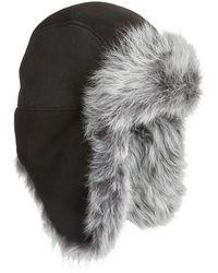 UGG - Ugg Genuine Shearling Trapper Hat - Lyst