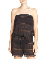 Blush By Profile - Taboo Cover-up Romper - Lyst