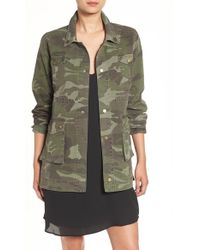 Sincerely Jules | 'alexa' Camo Cotton Military Jacket | Lyst