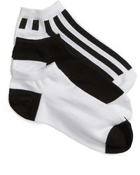 Sockart - Referee 3-pack Ankle Socks, White - Lyst