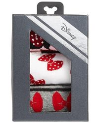 Disney - Minnie Mouse 3-pack Crew Socks, Pink - Lyst