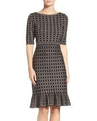 Taylor Dresses - Sweater Knit Sheath Dress - Lyst