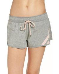 Cozy Zoe - Mesh Inset Shorts - Lyst