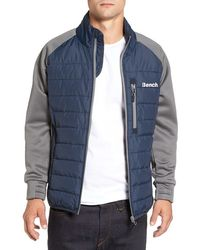 Bench - Intellectual Quilted Jacket - Lyst