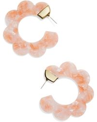 BaubleBar - Dorine Hoop Earrings - Lyst