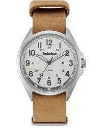 Timberland | 'raynham' Leather Strap Watch | Lyst