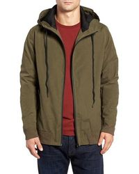 Threads For Thought - Connor Hooded Zip Jacket - Lyst