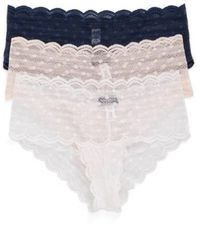 Cosabella - Sweet Treat 3-pack Lace Briefs - Lyst