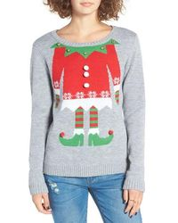 Love By Design - Elf Body Christmas Sweater - Lyst