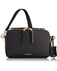 Tumi - Voyaguer- Aberdeen Leather Crossbody Bag - Lyst