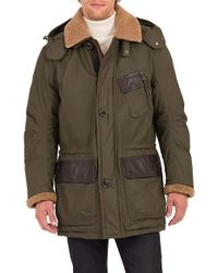 Rainforest | Daviston Water Resistant Parka With Genuine Shearling Trim | Lyst