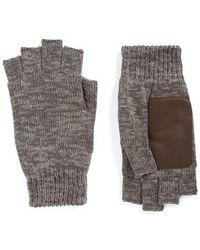 Bickley + Mitchell - Fingerless Gloves - Lyst