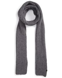 Bickley + Mitchell - Rib Knit Scarf - Lyst