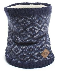 The North Face - Knit Infinity Scarf - Lyst