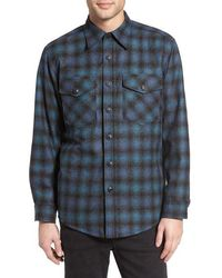 Pendleton | Quilt Lined Cpo Wool Shirt | Lyst