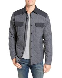 Smartwool - 'summit County' Relaxed Fit Quilted Shirt Jacket - Lyst