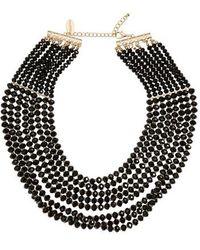Tasha - Multistrand Necklace - Lyst
