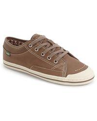 Simple Satire-l Sneaker - Brown