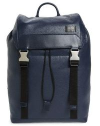 Jack Spade - Army Leather Backpack - Lyst