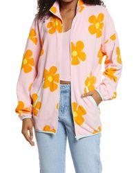 BP. Be Proud By Gender Inclusive Fleece Zip Jacket - Pink