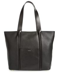 Skagen - Large Lisabet Leather Tote - Lyst