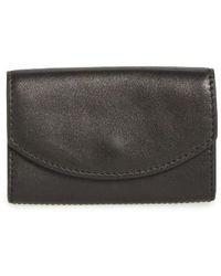 Skagen - Leather Card Case - Lyst