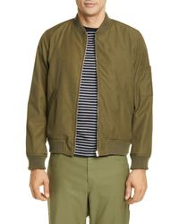 Moncler Gregoire Padded Jacket in Yellow for Men Lyst