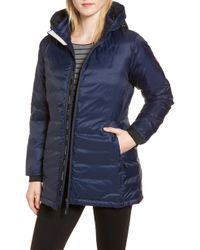 Canada Goose - Camp Fusion Fit Packable Down Jacket, Blue - Lyst