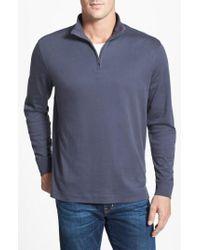 Cutter & Buck - Belfair Quarter Zip Pullover - Lyst