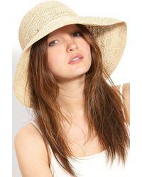 Helen Kaminski 'provence 12' Packable Raffia Hat - - Natural