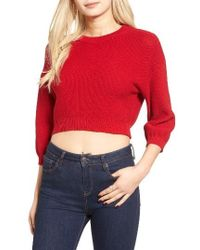 The Fifth Label - Adventure Calling Crop Sweater - Lyst