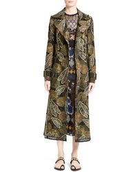 Yigal Azrouël - Embroidered Trench Coat - Lyst