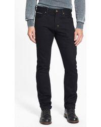 PRPS - 'demon' Slim Straight Leg Selvedge Jeans - Lyst