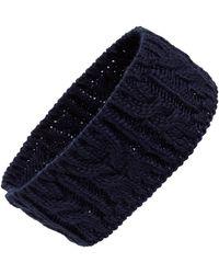 BP. Cable Knit Headband - Blue