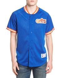 Mitchell   Ness - Nba Seasoned Pro - Cleveland Cavaliers Mesh Shirt - Lyst 227e048ed