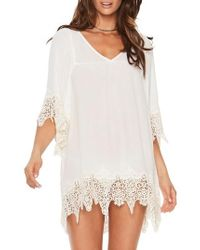 L*Space - Lace Cover-up Tunic - Lyst